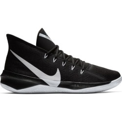 4e7313a627d Nike Zoom Witness Ep Lebron James Black Red Mens Basketball Shoes ...