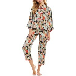 Natori Dynasty Satin Pajamas found on MODAPINS from Dillards for USD $160.00