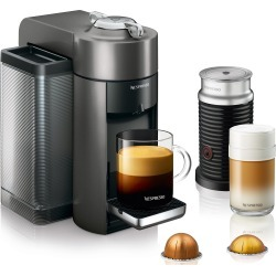 Nespresso by Delonghi VertuoLine Evoluo Grey Bundle Coffee Maker