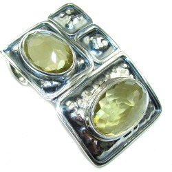 Bali Secret! Yellow Baltic Polish Amber Sterling Silver Pendant found on Bargain Bro India from silverrushstyle.com for $92.15