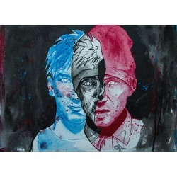 TWENTYONEPILOTS painting found on Bargain Bro India from displate for $54.00