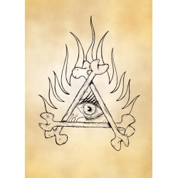 All Seeing Eye found on Bargain Bro India from displate for $44.00