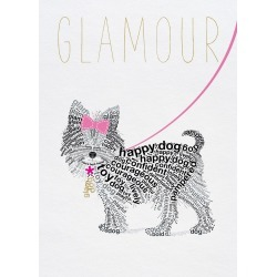 Typographic Yorkshire Terrier in the 'Wild about Words' . found on Bargain Bro India from Displate EU for $52.00