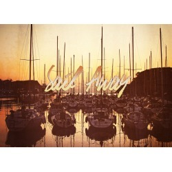 Sail Away Yacht Harbor Late Afternoon Seaside - A view of a yacht harb found on Bargain Bro India from displate for $44.00