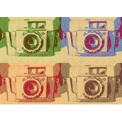 Vintage camera abstract found on Bargain Bro India from displate for $44.00