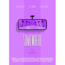 Illustration for the movie 'Somewhere' directed by Sofia Coppola found on Bargain Bro India from displate for $46.00
