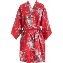 Hot Women Short Floral Robe Dressing Gown found on MODAPINS from Zilingo AU for USD $20.06
