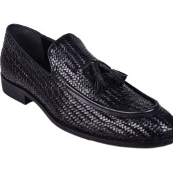 Papa Cross-weived Dress Shoes For Men