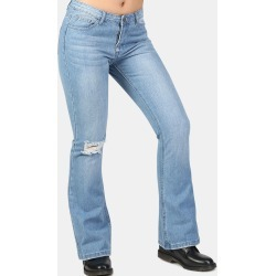 Flared Distressed Jeans found on MODAPINS from Zilingo AU for USD $36.15