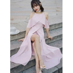 Pink Elegant Beach Dresses found on MODAPINS from Zilingo AU for USD $41.30