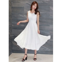 Women Summer Long Dresses Sleeveless Office Formal found on MODAPINS from Zilingo AU for USD $34.79