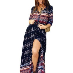 Women's Printed Beach Dress found on MODAPINS from Zilingo AU for USD $43.40