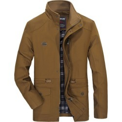Men's Casual Jacket Medium Long Paragraph Loose Plus Size found on MODAPINS from Zilingo AU for USD $56.33
