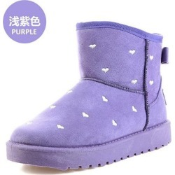 Women Winter Warm Ankle Snow Flat Boots found on MODAPINS from Zilingo AU for USD $21.83