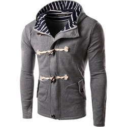 Men's Coat Casual Cotton Blends Cozy All Match Long Sleeve Coat found on MODAPINS from Zilingo AU for USD $69.69