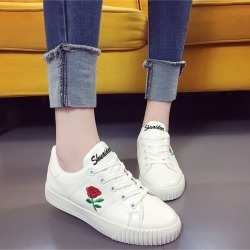 Women Trendy Sneakers Shoes Sports Running Shoes Black Casual Shoes Flower Flats found on MODAPINS from Zilingo AU for USD $21.70