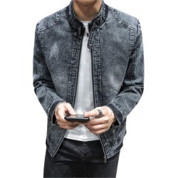 Vintage Denim Jacket Youth Casual Jacket found on MODAPINS from Zilingo AU for USD $42.85
