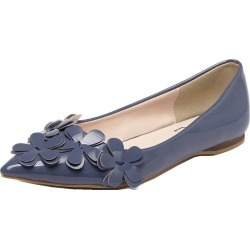 Women Feisen Pointed Toe Patent Leather Flat Ballet Casual Flats found on Bargain Bro India from Zilingo AU for $32.46