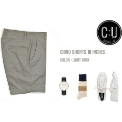 16. Chino: Light Gray 16 Inches found on Bargain Bro India from Zilingo AU for $17.05
