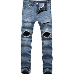 Anklezip Destroyed Skinny Jeans found on MODAPINS from Zilingo AU for USD $38.07