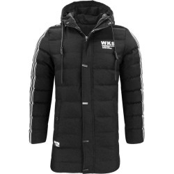 Men's Thick Warm And Warm Hooded And Long Cotton Coat found on MODAPINS from Zilingo AU for USD $47.22