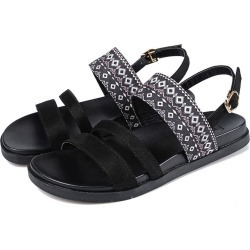 Sandals Flat Sandals Summer Ethnic Roman Sandals Thick Crust Soft Bottom Shoes