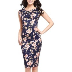 Women Elegant S Printed Office Formal Dress found on MODAPINS from Zilingo AU for USD $21.89