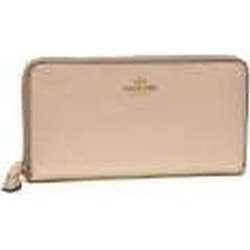 Coach Long Wallet Outlet Lady's Coach F20145 Imlh4 Beige Gold found on MODAPINS from Zilingo AU
