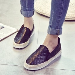 New Women Hemp Rope Shoes Moccasins Mother Loafers Soft Leisure Flats found on Bargain Bro India from Zilingo AU for $36.74
