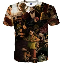 Men's T Shirt Cartoon Print Short Sleeve Casual Tops