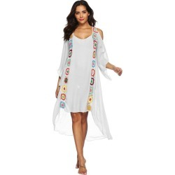 Characteristic Stitching Irregular Beach Dress found on MODAPINS from Zilingo AU for USD $34.69
