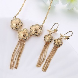Women Classic Elegant Necklace Earring Jewelry Sets