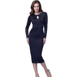 Long Sleeves Tight Formal Dress found on MODAPINS from Zilingo AU for USD $29.64