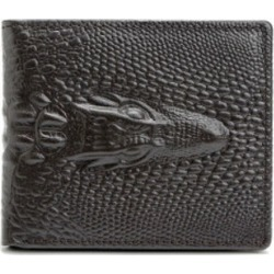 Crocodile Wallet Men's Leather Short Wallet Cowhide Personality Wallet found on MODAPINS from Zilingo AU for USD $17.27