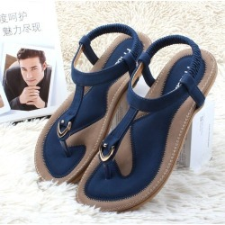 Women Summer Sandals Flat Casual Single Shoe Soft Slippers Sandals Plus found on Bargain Bro India from Zilingo AU for $29.36
