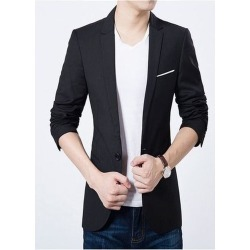 High Comfortable Black Blazer found on MODAPINS from Zilingo AU for USD $34.91