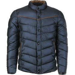 Stand Collar Linellae Embellished Long Sleeve Cottonpadded Coat For Men found on MODAPINS from Zilingo AU for USD $27.56