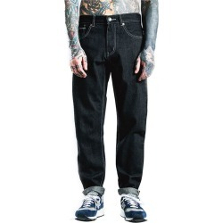 Plus Size Jeans Mid Waisted Casual Straight Denim Men's Pants found on MODAPINS from Zilingo AU for USD $86.03