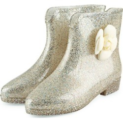 Paillette Embellishment Floral Water Resistance Ladies Rain Boots found on MODAPINS from Zilingo AU for USD $22.36