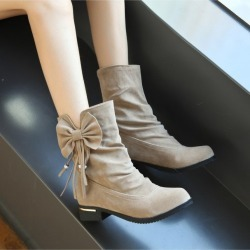 Women Ankle Casual Flat Boots found on MODAPINS from Zilingo AU for USD $30.38