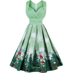 Vintage Party Swing Dress found on MODAPINS from Zilingo AU for USD $26.85