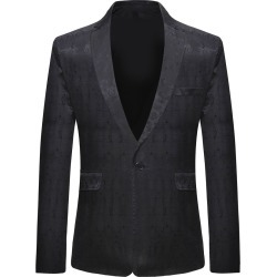 Vintage Print One Button Blazer found on MODAPINS from Zilingo AU for USD $39.59