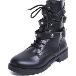 Women Thick Bottom Flat Boots found on MODAPINS from Zilingo AU for USD $25.83