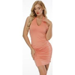 5f179582306 Womens Rayon Halter Fishtail Bandage Party Dress found on MODAPINS from  Zilingo AU for USD  27.50