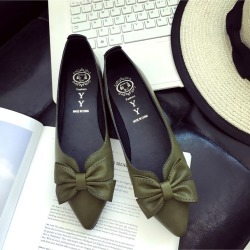 Autumn New Fashion Pointed Bow Flat Women Shoes found on Bargain Bro India from Zilingo AU for $33.64