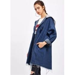 Coat-stitched Denim Jacket found on MODAPINS from Zilingo AU for USD $21.21