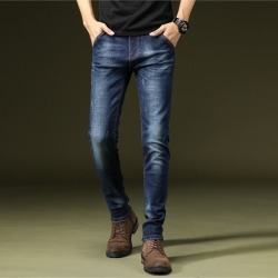 Men's Jeans Fashion Trends Elastic Slim Pants Casual found on MODAPINS from Zilingo AU for USD $44.55