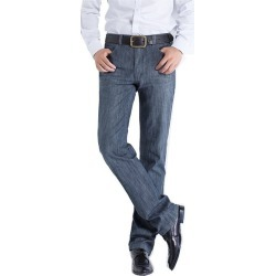 Jeans Straight Waist Long Business Casual Pants found on MODAPINS from Zilingo AU for USD $33.64