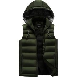 Men's Down Coat Hooded Warm Cold-proof Outdoor Coat found on MODAPINS from Zilingo AU for USD $62.19