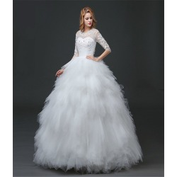 Women Lace Appliques Wedding Formal Dresses found on MODAPINS from Zilingo AU for USD $158.10